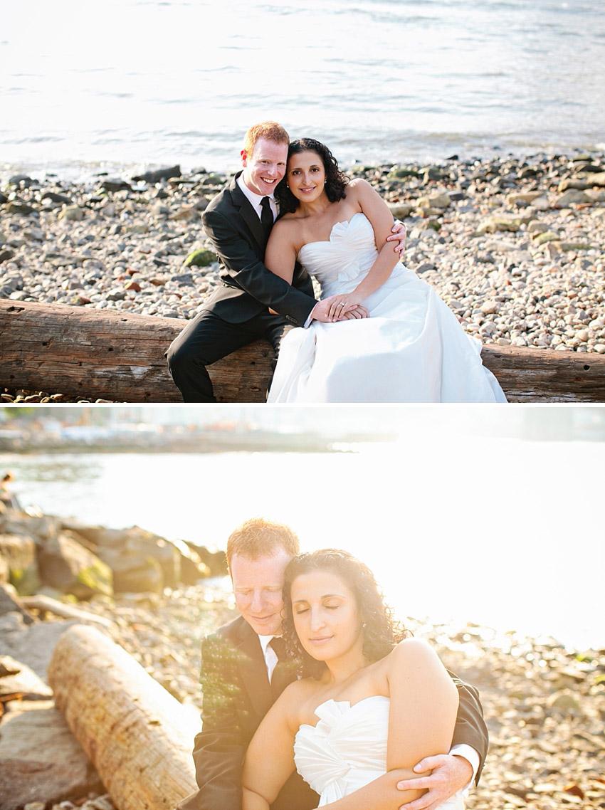 Wedding on brooklyn beach