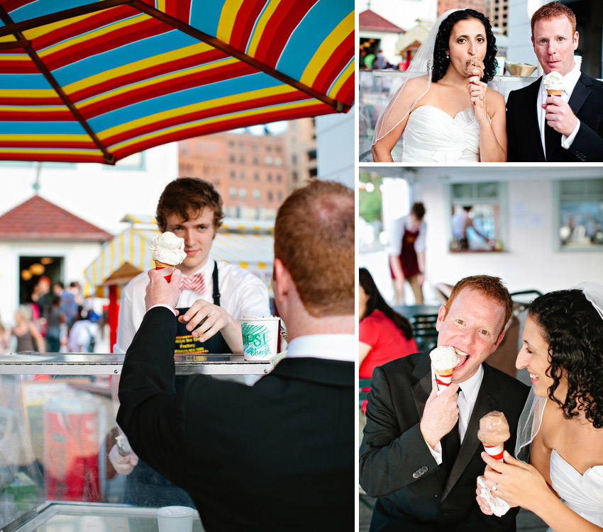 brooklyn wedding ice cream