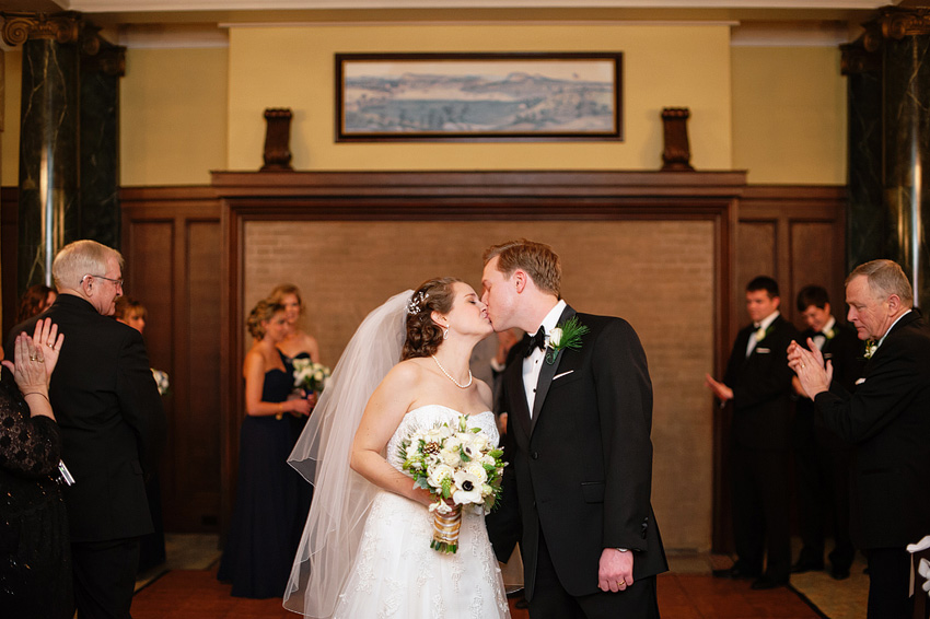 union league wedding ceremony