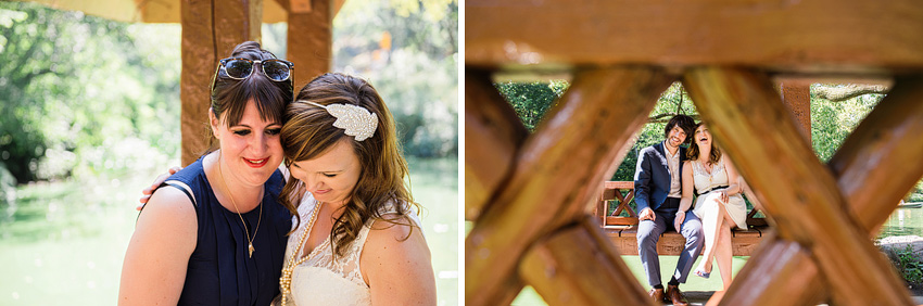 vintage inspired wedding headband elopement