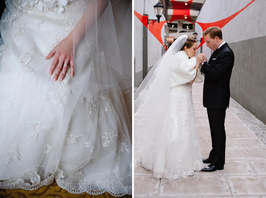 winter wedding in new haven