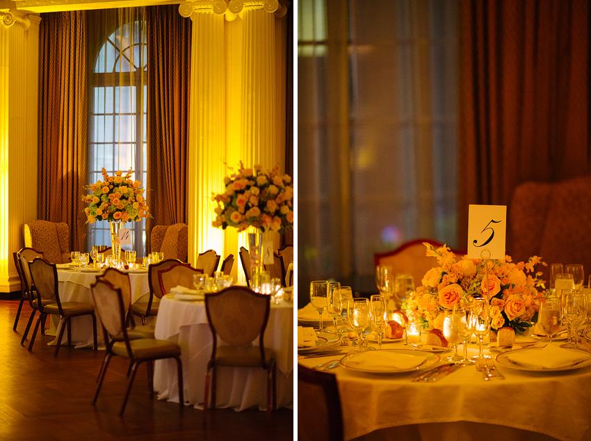 Sarah & Jeff's NYC Yale Club Wedding | Tampa Based Wedding ... |Yale Club Wedding