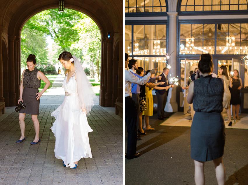 lesbian wedding photography team
