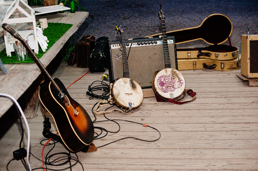 instruments of string band