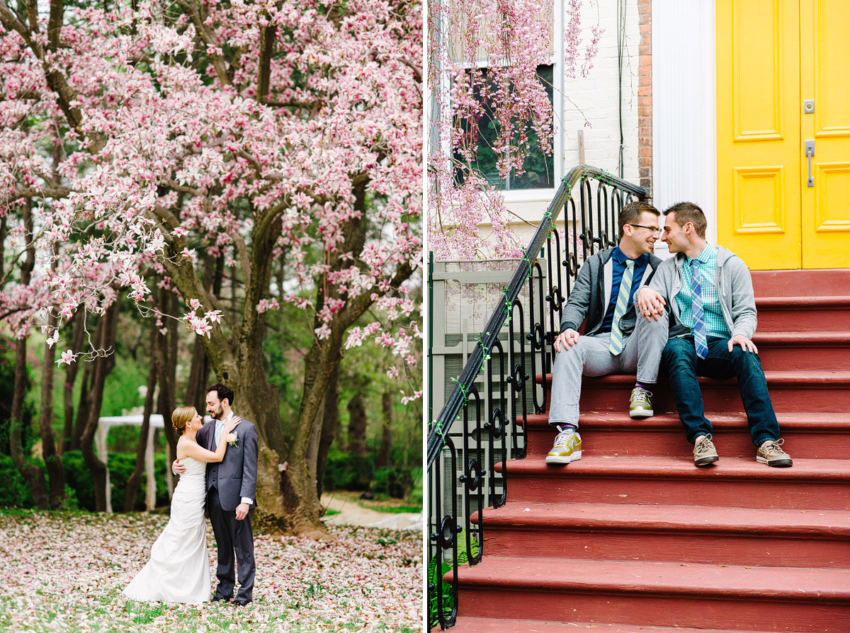 gay-engagement-spring-cherry-blossoms