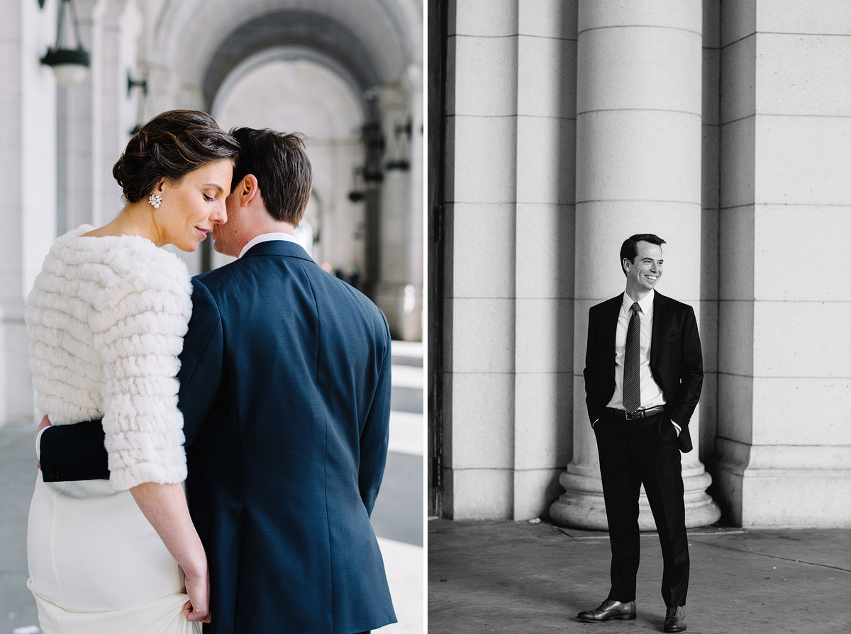 epic wedding photos at union station