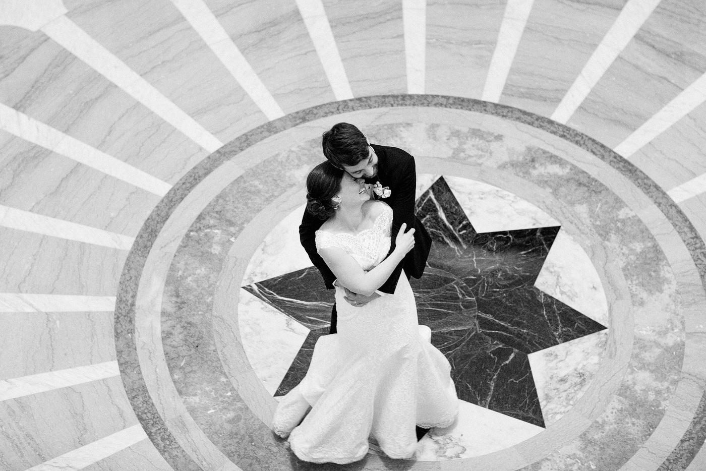 CARNEGIE INSTITUTE for SCIENCE winter wedding
